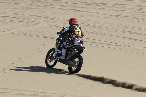 Dakar 2015, 11. etapa: Stanovnik kljub težavam z vzmetenjem in zavoro do 32. mesta