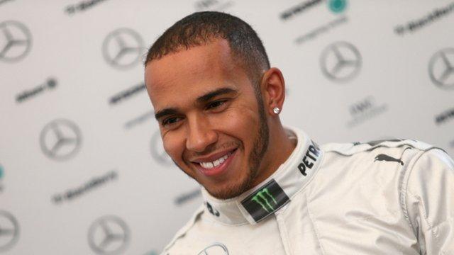 Hamiltonu prvi trening