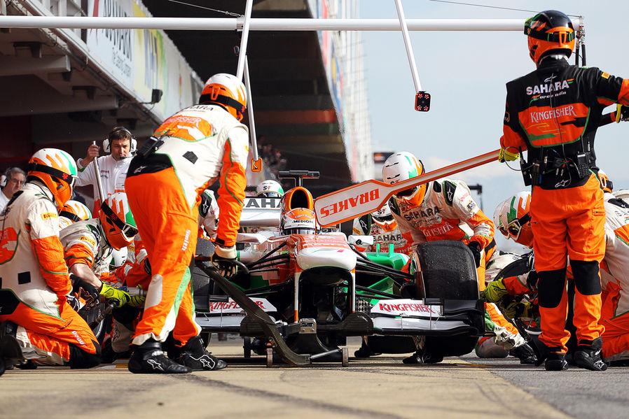 Force India tudi v 2014 z Mercedesom