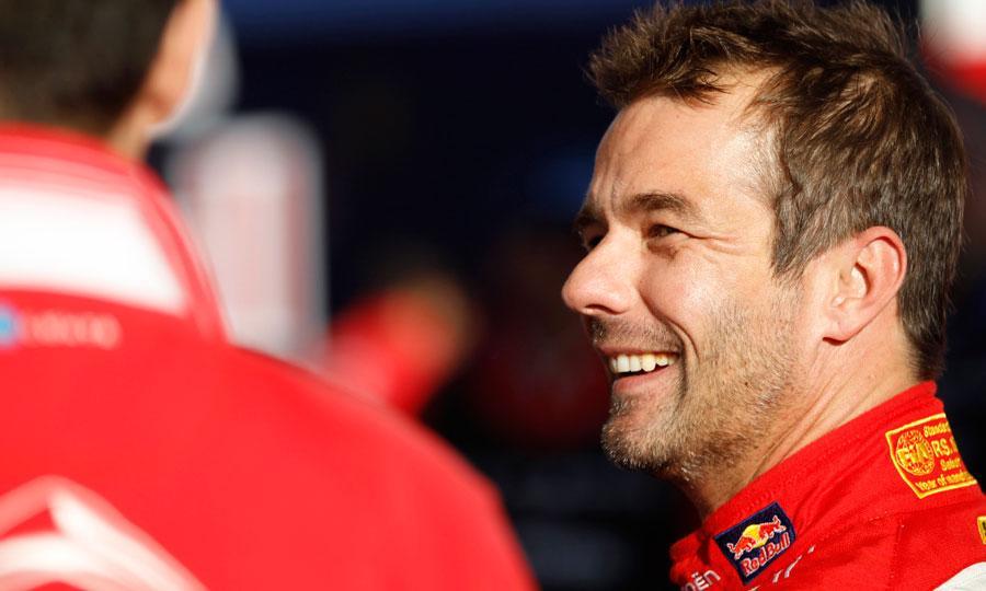 Loeb testiral Citroenov WTCC dirkalnik