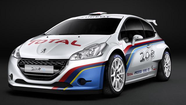 Loeb s Peugeotom na Pikes Peak