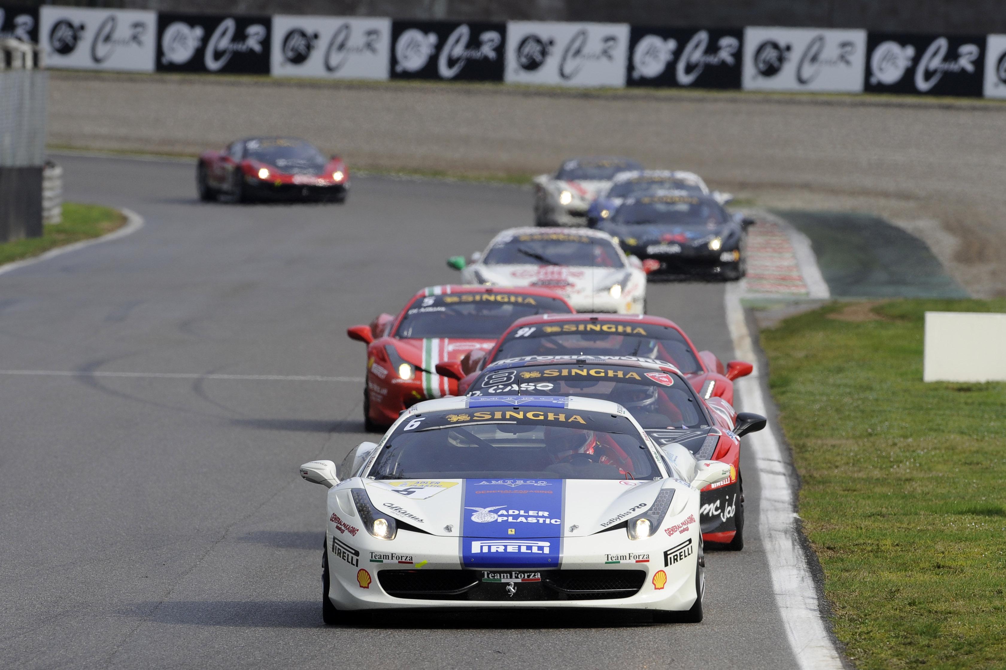 Case slavil v Ferrari Challenge Europe