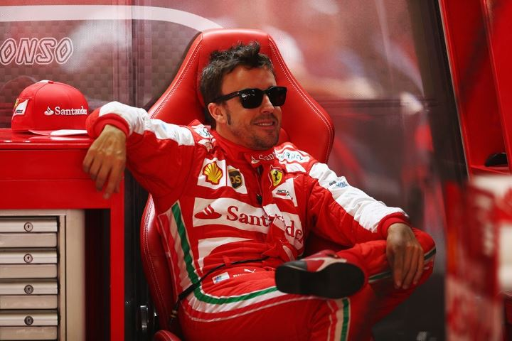 Alonso bo dirkal