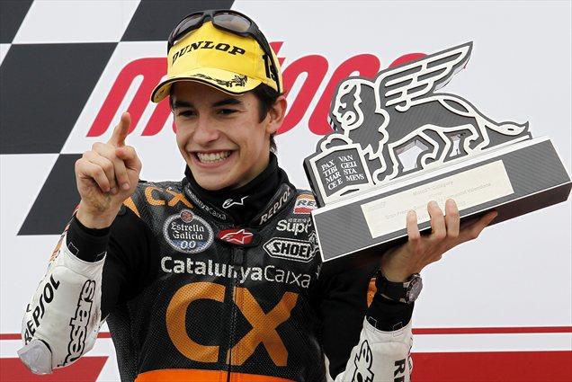 Marquez se veseli svoje prve dirke v motoGP razredu