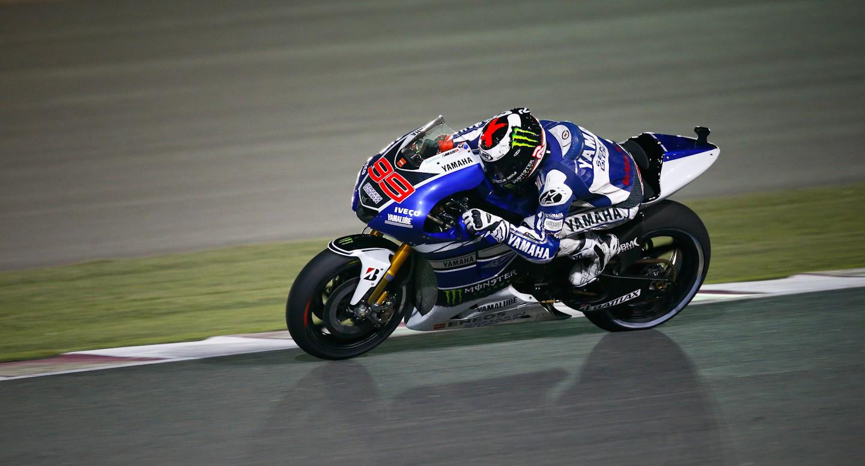 Lorenzo zmagovalec prve dirke letošnje sezone
