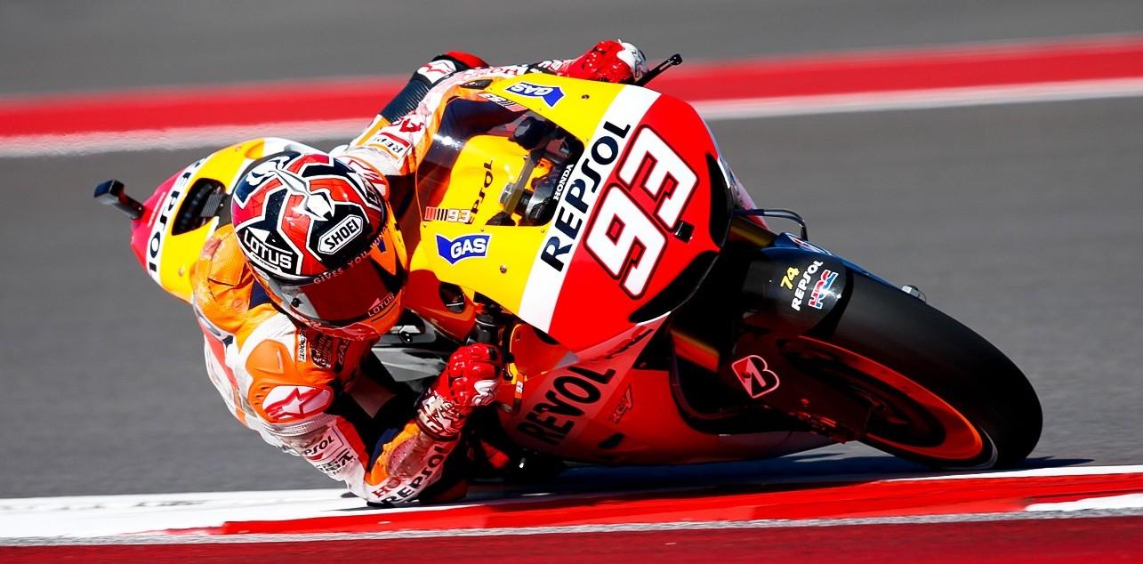 Marquez dosegel svoj prvi najboljši štartni položaj