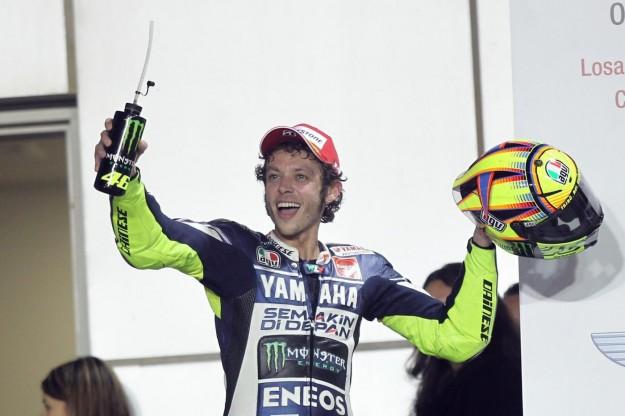 Crutchlow navdušen nad Rossijevo predstavo