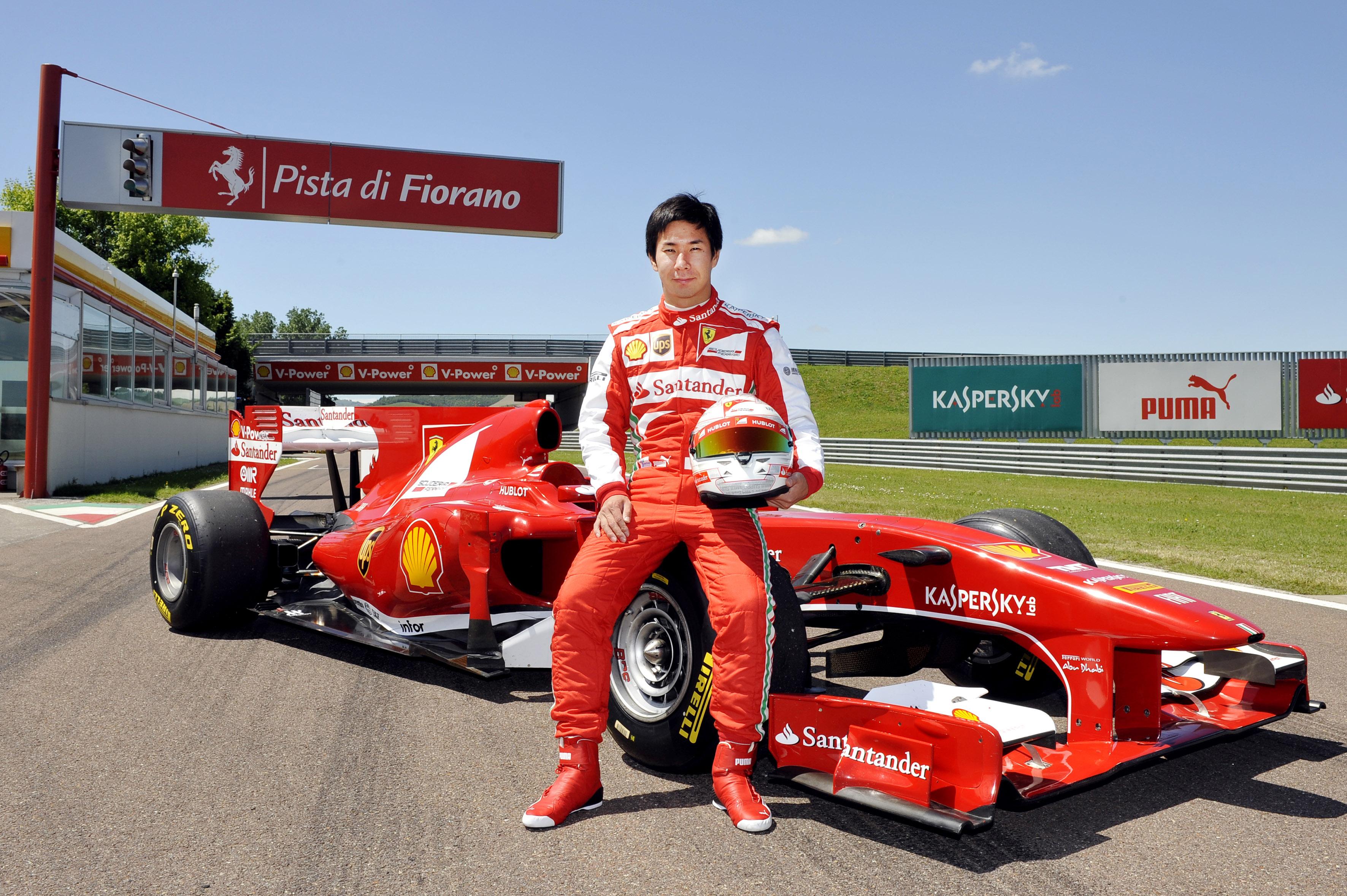Kobajaši prvič za Ferrari