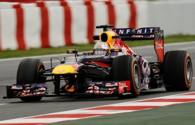 Drugi trening dobil Vettel
