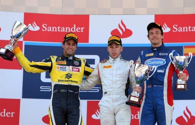 Frijns zmagovalec prve dirke
