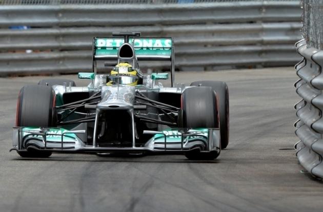 Rosberg najhitrejši tudi na tretjem treningu