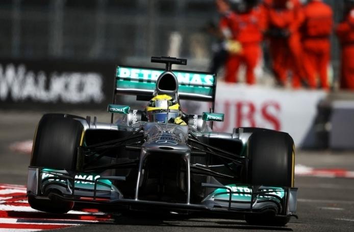 Rosbergu še monaške kvalifikacije