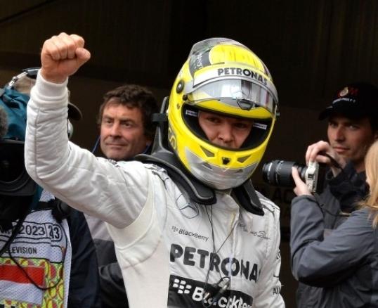 Rosberg zmagovalec Monaka