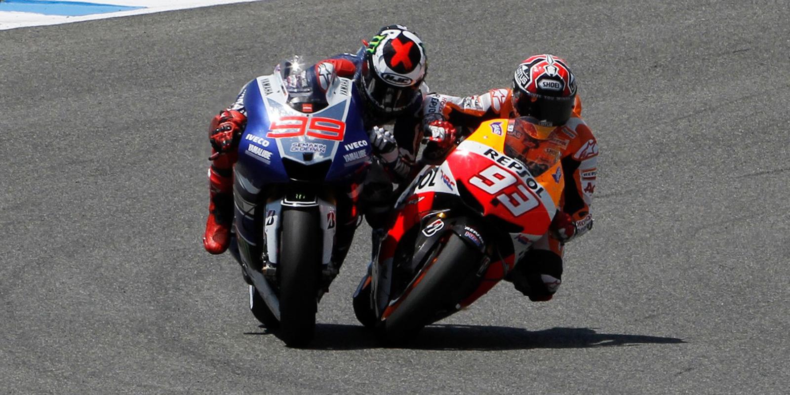 Rossi o trku med Marquezom in Lorenzom