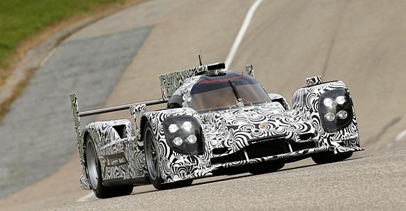 Porsche LMP1 za 2014