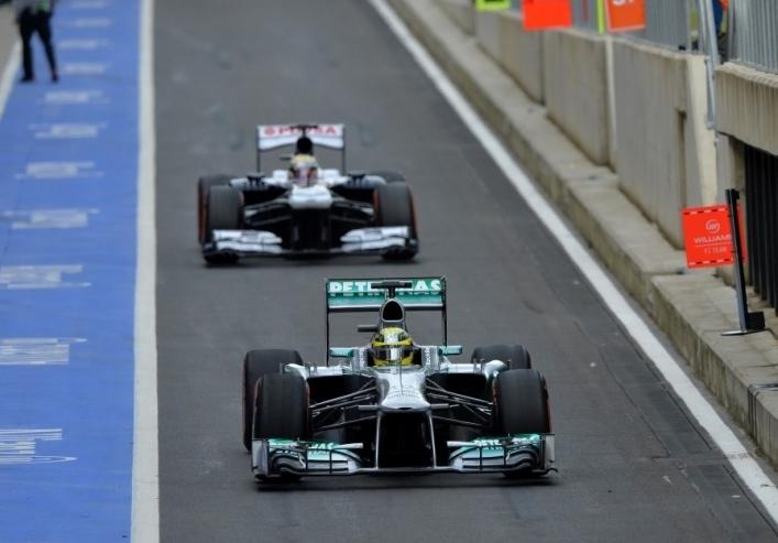 Rosberg ostal na vrhu
