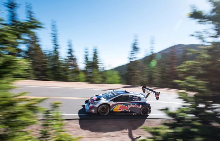 Video: Loeb podrl rekord Pikes Peaka