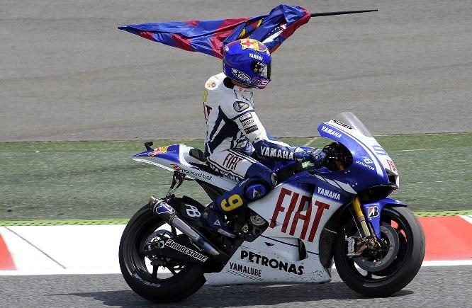 Lorenzo dobil dirko v Barceloni