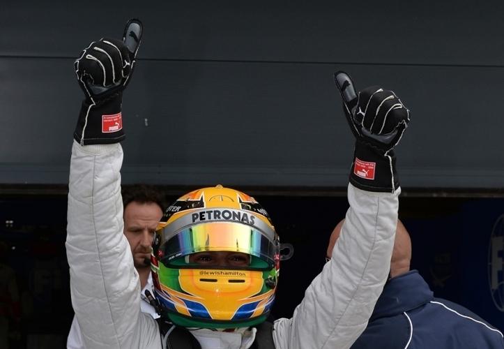 Hamiltonu pole, Red Bulla tik za njim