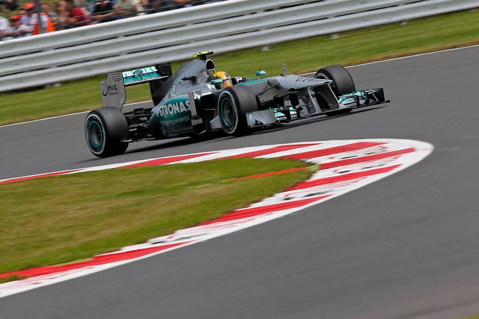 Hamiltonu pole, polom za Rosberga