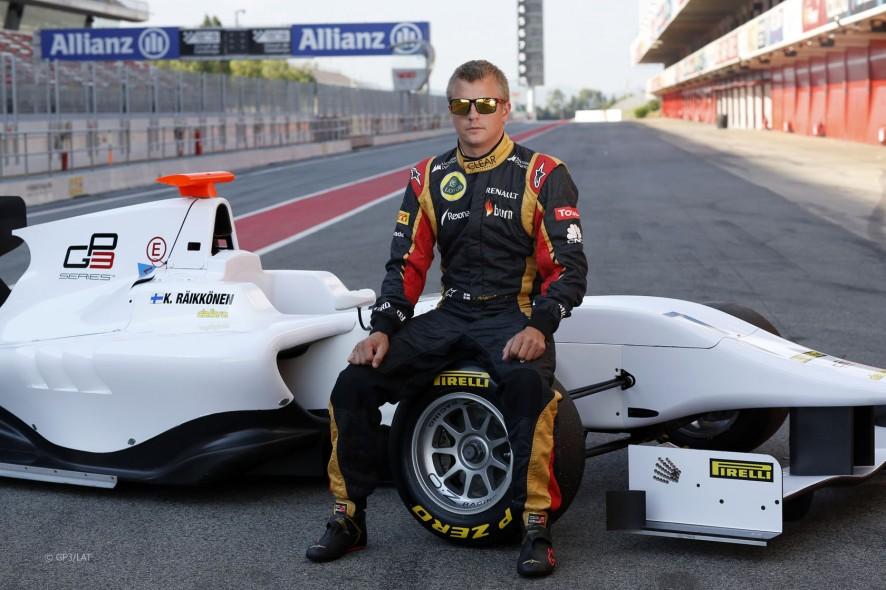 Raikkonen je zamenjal formulo ena za GP3