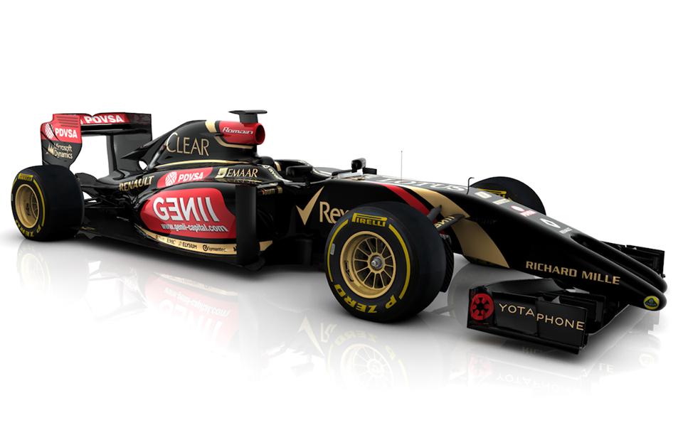 Tudi Lotus pokazal svoj dirkalnik