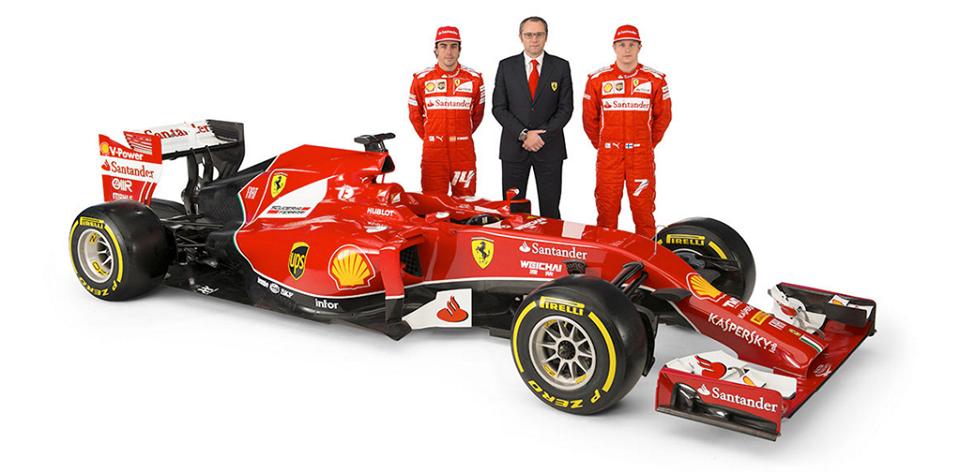 Ferrari F14-T in še en grozen nos