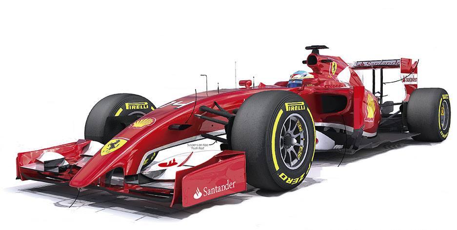 Tako pa naj bi izgledal Ferrari F14-T