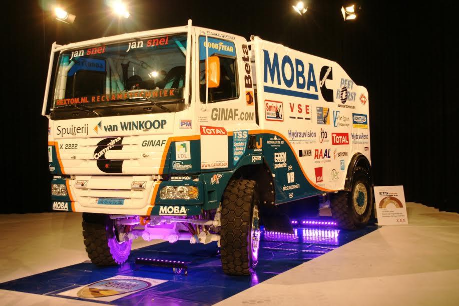 Rally Dakar: v najtežji dirkaški preizkušnji tudi sedem tovornjakov na pnevmatikah Goodyear
