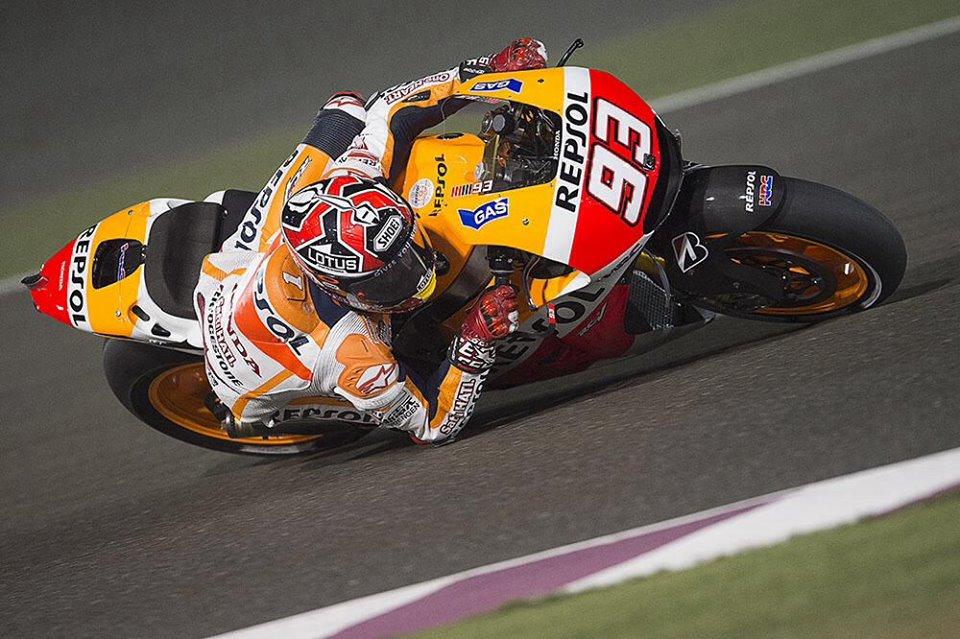 Marquezu najboljši štartni položaj v Katarju