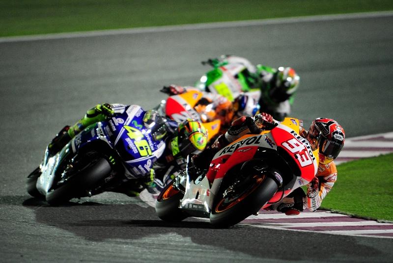 Na prvem Rossi, na drugem Marquez