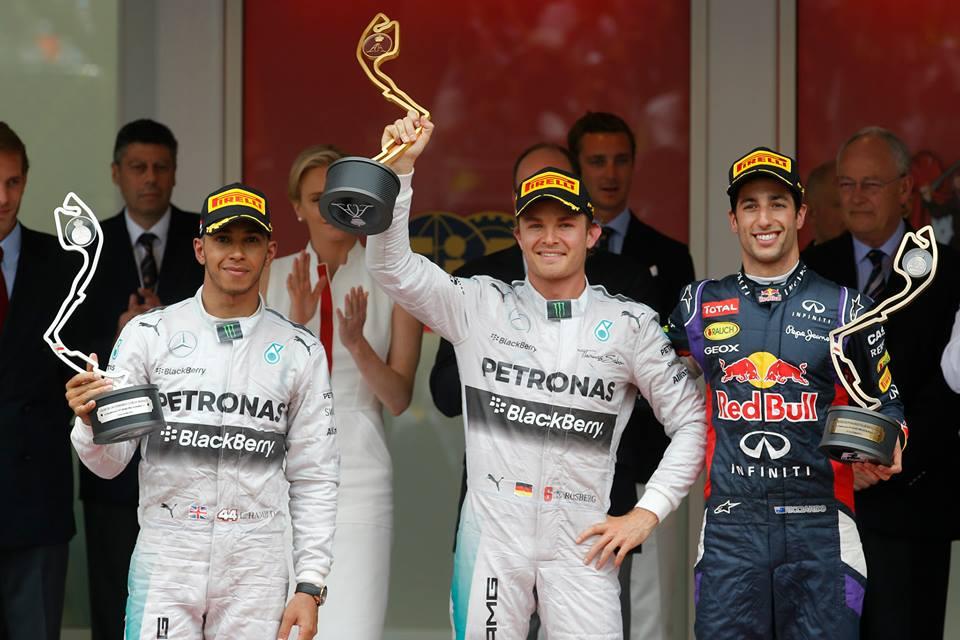 Rosberg ponovno v vodstvu