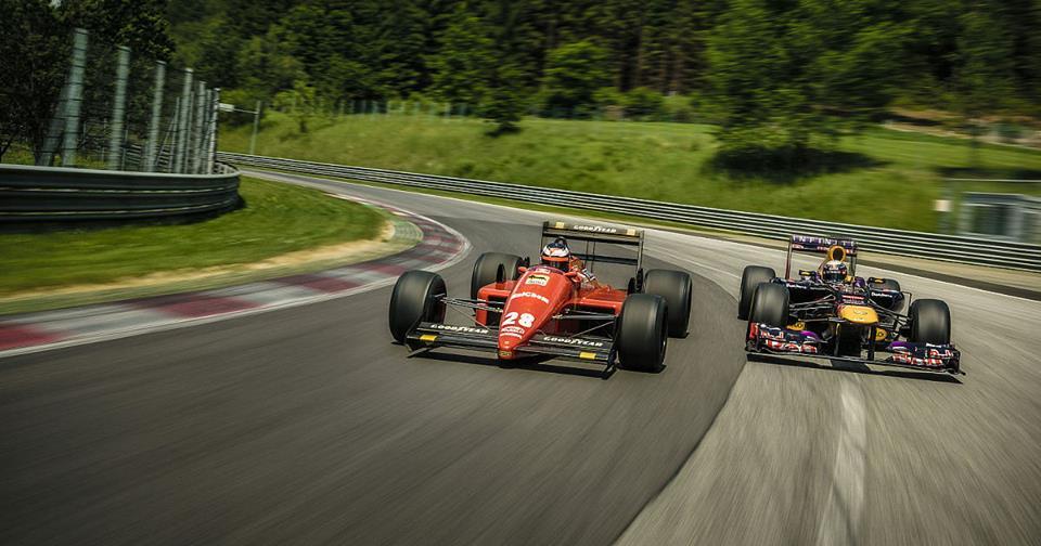 Video: Vettel v Bergerjevem Ferrariju iz leta 1988