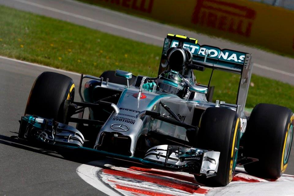 Rosberg znova z najboljšega štartnega položaja
