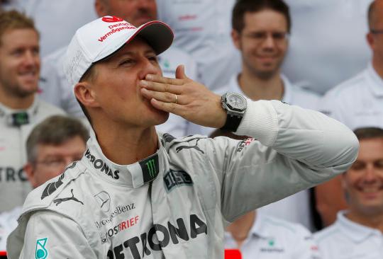 Michael Schumacher ni več priklenjen na posteljo