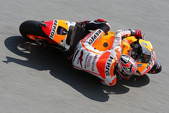 Še deveta zaporedna zmaga Marquezu