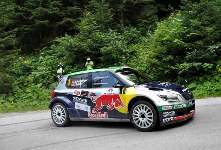 Baumschlager zmagal na rallyu Weiz