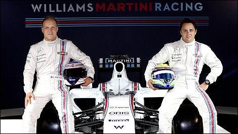 Bottas in Massa ostajata pri Williamsu