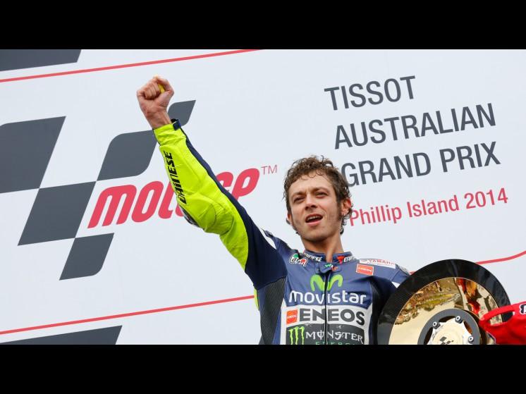 Rossi zmagal drugič letos