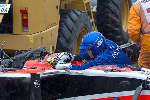 Bianchi prva smrtna žrtev v F1 po letu 1994