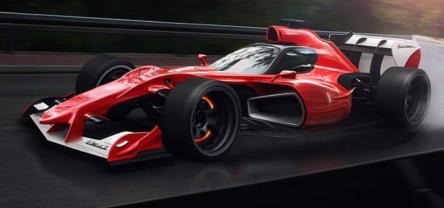 Formula 1 z zaprto kabino ?