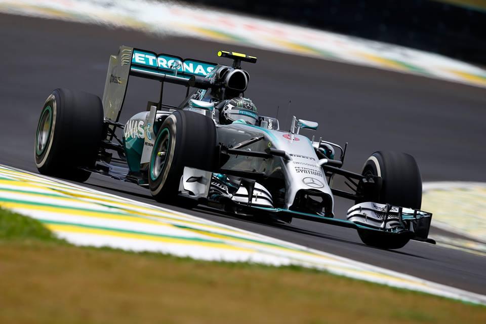 Tudi v drugo Rosberg