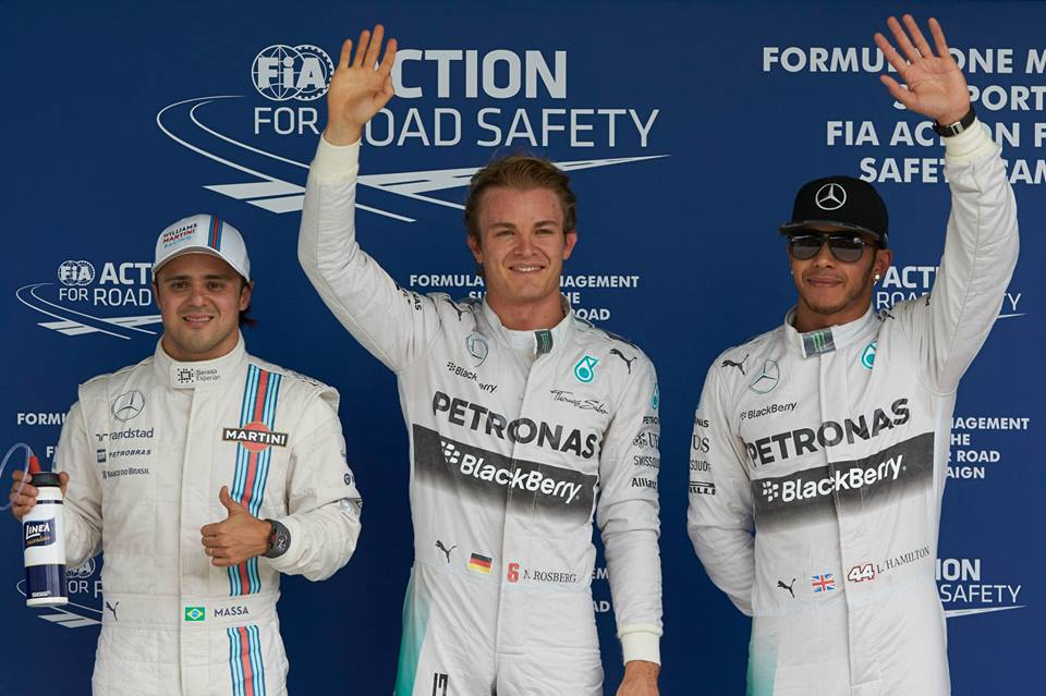 Sladka zmaga za Rosberga