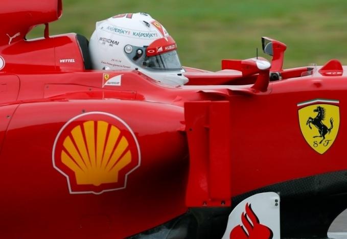 Sebastian Vettel Ferrari Fiorano F2012