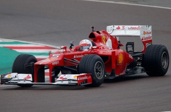 VIDEO: Vettel opravil prvo testiranje za Ferrari