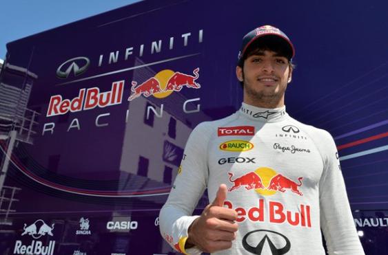 Sainz ml. bo vozil za Red Bull na testu v Abu Dabiju
