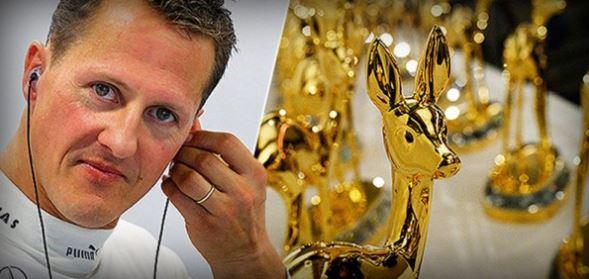 Michael Schumacher prejel nagrado Millenium-BAMBI