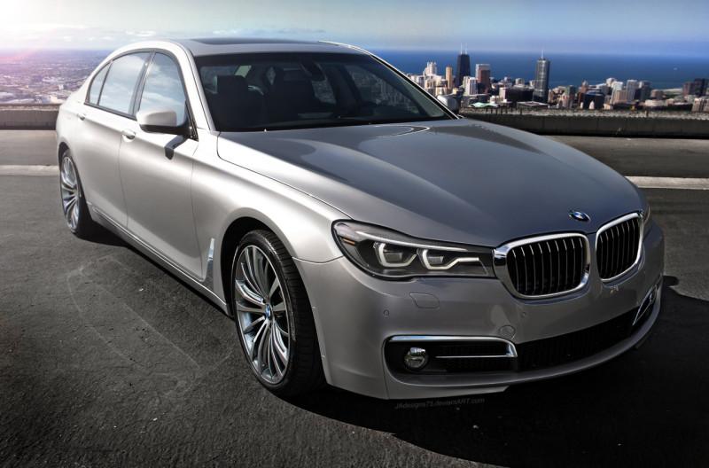 Prihaja novi BMW serije 7