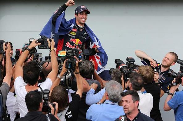 Ricciardo presenečen nad svojo sezono 2014