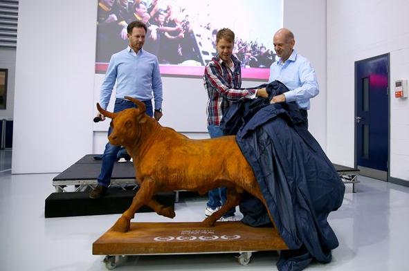 Vettel se je poslovil od članov Red Bulla